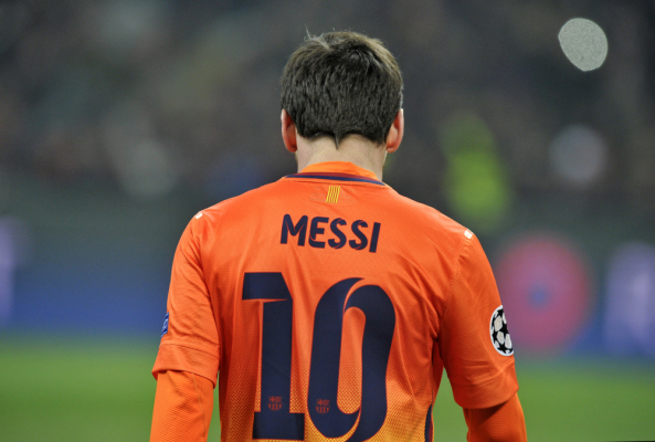 """Messi: Ronaldinho powiedział, żebym przejął po nim numer """"10"""""""