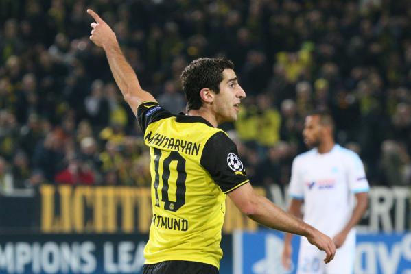 Mchitarjan przedłuży kontrakt z Borussią Dortmund