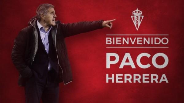 Paco Herrera nowym trenerem Sportingu Gijon