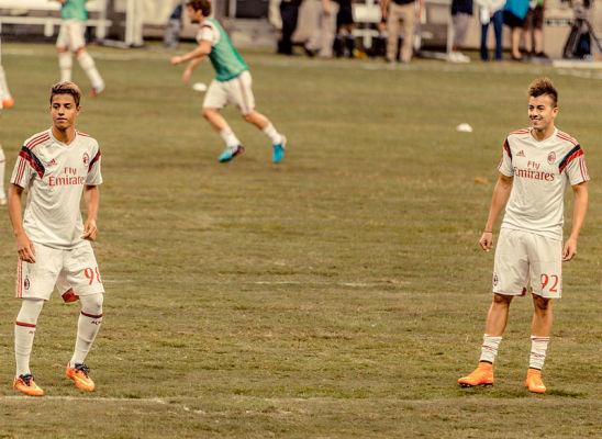 Wielki talent Milanu w Maladze