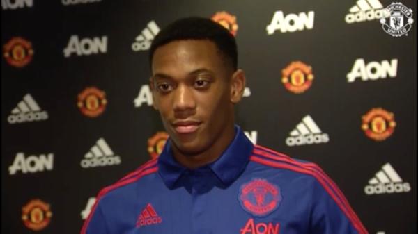 Martial: Nie czuję presji