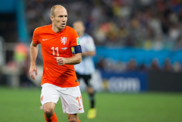 Robben nie zagra przez cztery tygodnie
