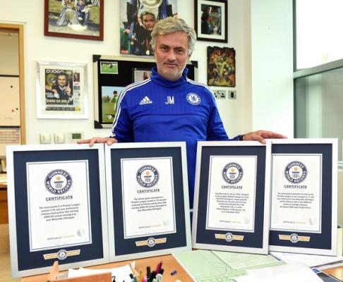 5 rekordów Guinessa Jose Mourinho