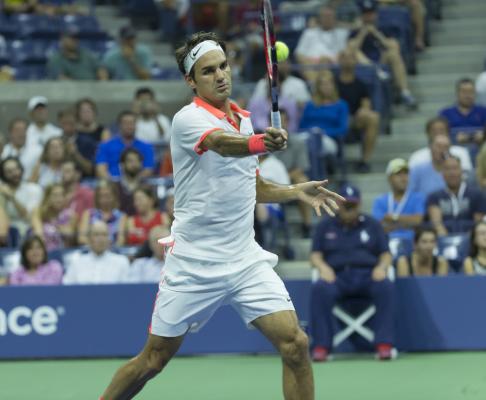 Federer w 1/8 finału US Open