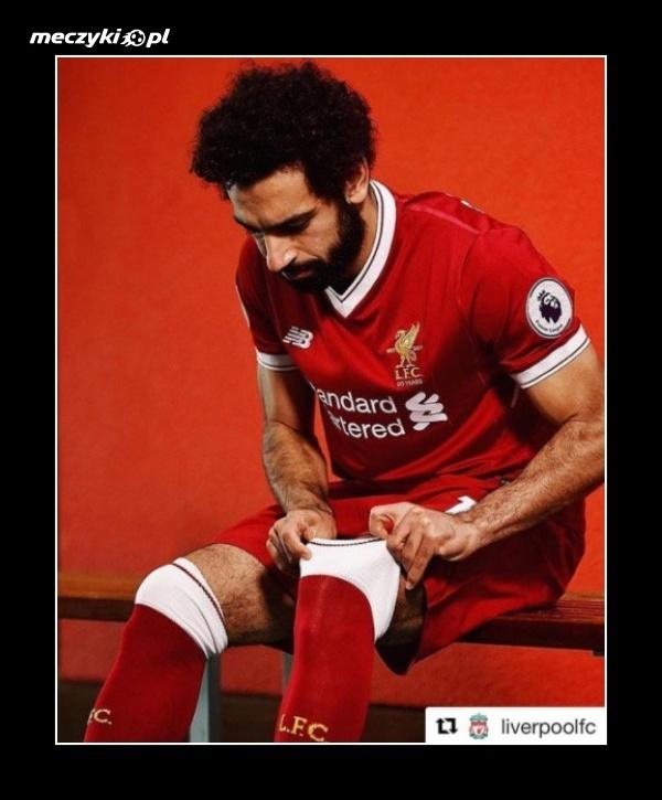 Mohamed Salah w czerwonych barwach