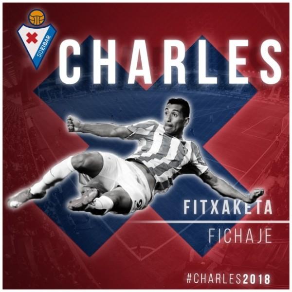 Charles zamienił Malagę na Eibar