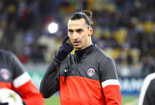 Ibrahimovic chce grać z Di Marią w PSG