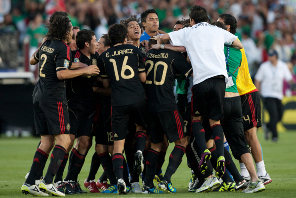 Meksyk ze Złotym Pucharem [video]