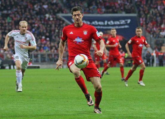 Lewy piłkarzem roku Bundesligi według Opta Sports