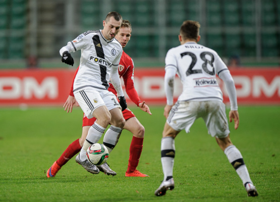 Legia gra najbardziej fair w Ekstraklasie