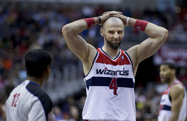 NBA: Porażka Wizards, dwanaście punktów Gortata