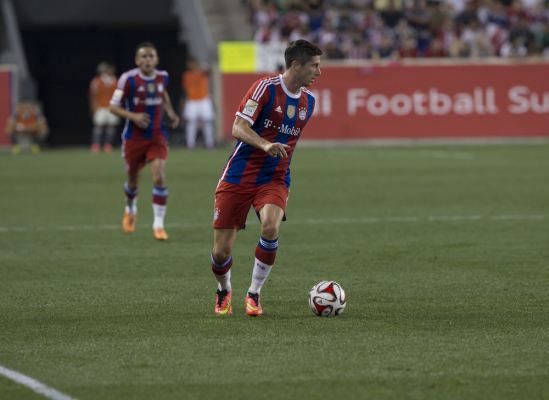 L'Equipe: Lewy piątym piłkarzem świata 2015 roku