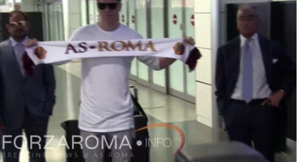 Szczęsny już w Rzymie [video]