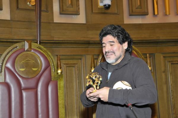 Maradona: Idę do FIFA. Będę walczyć z mafią