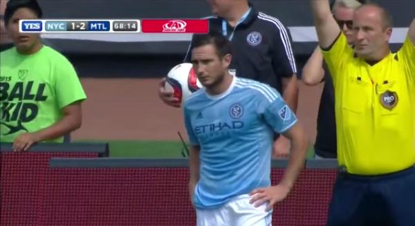 Nieudany debiut Lamparda [video]