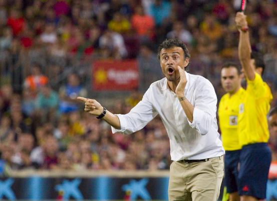 Enrique: Barca jest na właściwych torach