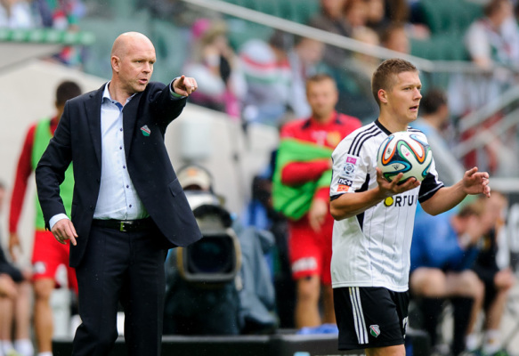 Berg: liga Ukraińska mocniejsza od Ekstraklasy