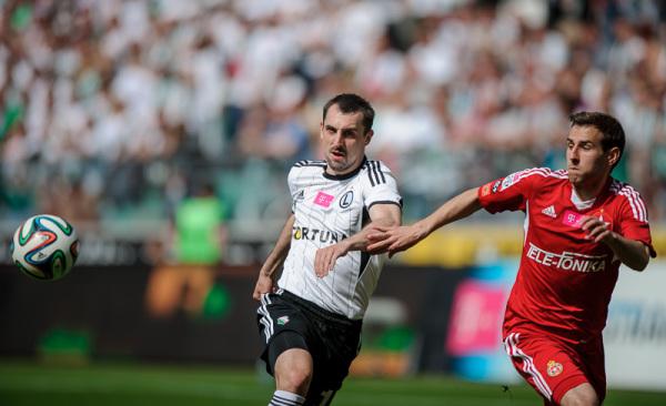 Legia remisuje z Wisłą, Boguski nie strzela karnego!