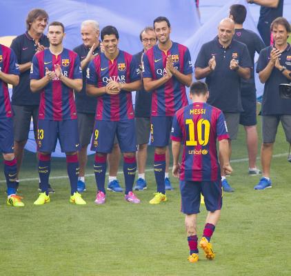 Barcelona z Superpucharem Europy! Niesamowity mecz!