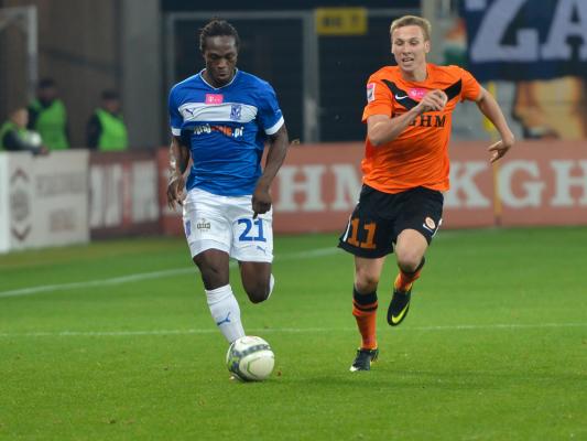 Piłkarz Lecha w kadrze Gambii