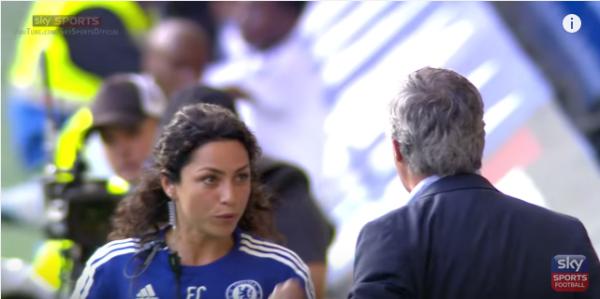 Reakcja Mourinho na zachowanie lekarki [video]