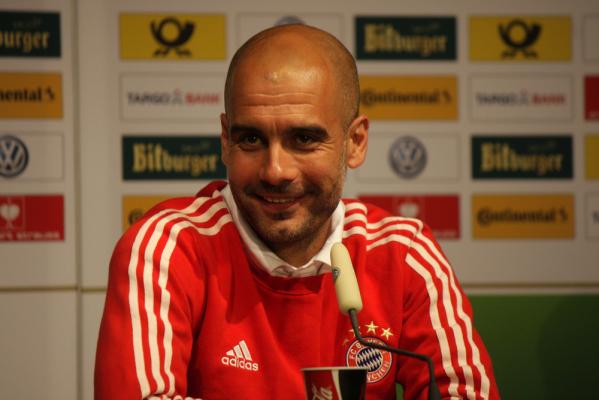 """Guardiola o """"nowym"""": nie może odlecieć"""