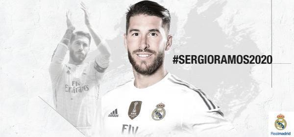 Ramos przedłużył kontrakt, w Realu do 2020 roku!