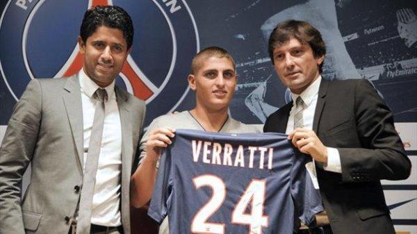 Barcelona chce Verrattiego