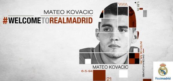 Kovacić oficjalnie w Realu