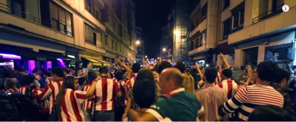 Szaleństwo w Bilbao, kibice świętują [video]
