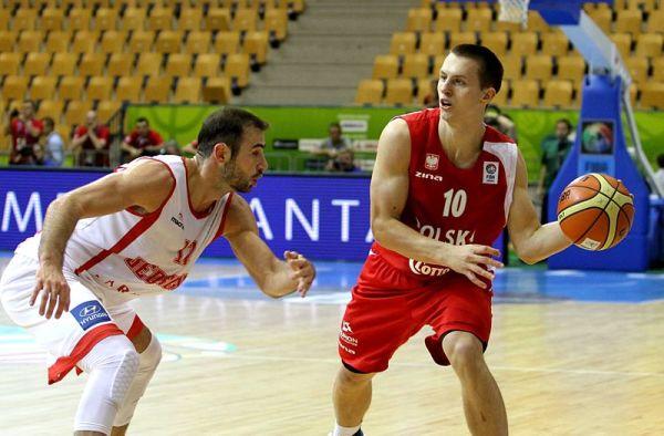 Świetny mecz polskich koszykarzy