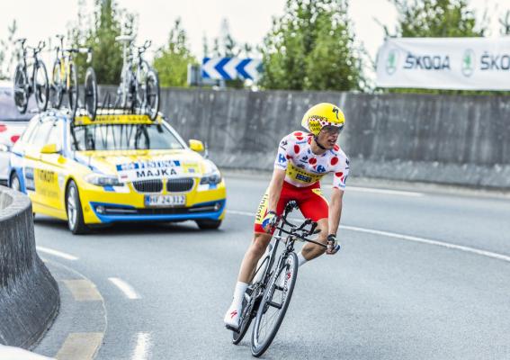 Vuelta a Espana: Majka w drugiej dziesiątce