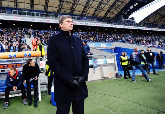 Skorża: nie możemy zawalić Ekstraklasy