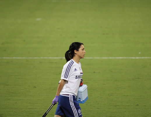 FIFA zajmie się sprawą Evy Carneiro