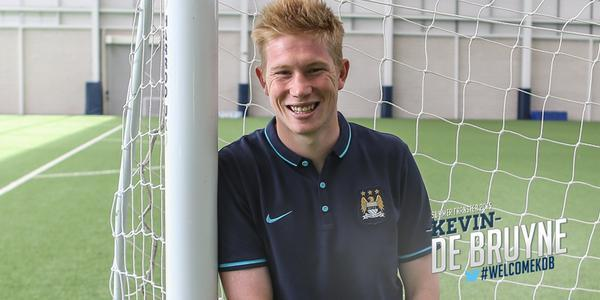 De Bruyne w Manchesterze City. Rekordowy transfer!