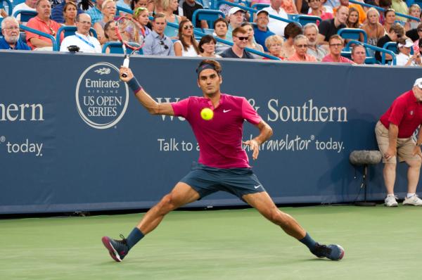Sampras pod wrażeniem Federera