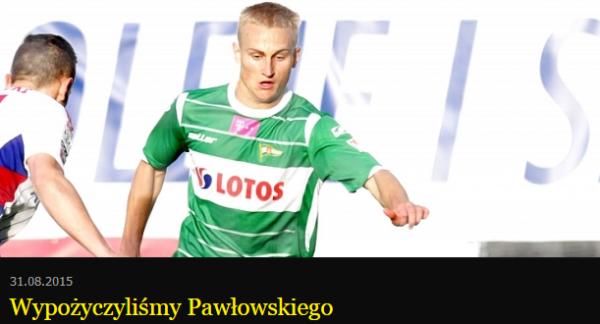 Pawłowski na rok w Koronie Kielce