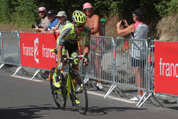 Vuelta a Espana: Majka jedenasty na 16 etapie