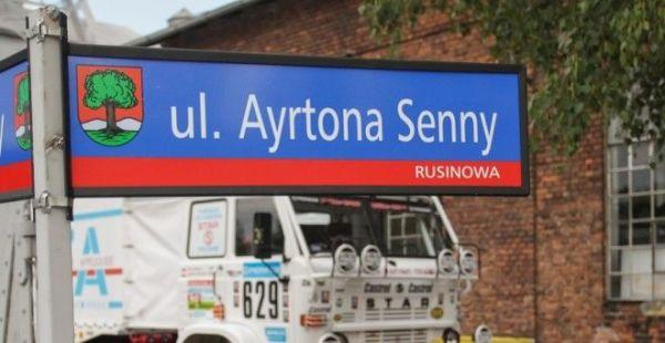 Wałbrzych uczcił Ayrtona Sennę nazwą ulicy