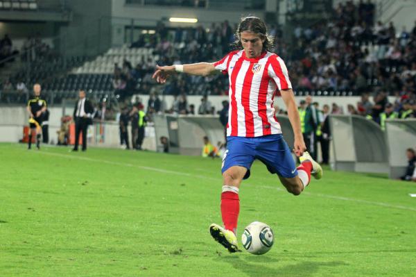 Filipe Luis nie zagra z Galatasaray