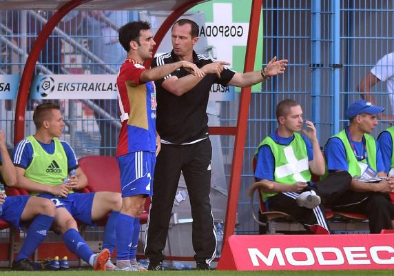 Trener Piasta: Chcemy się zrehabilitować