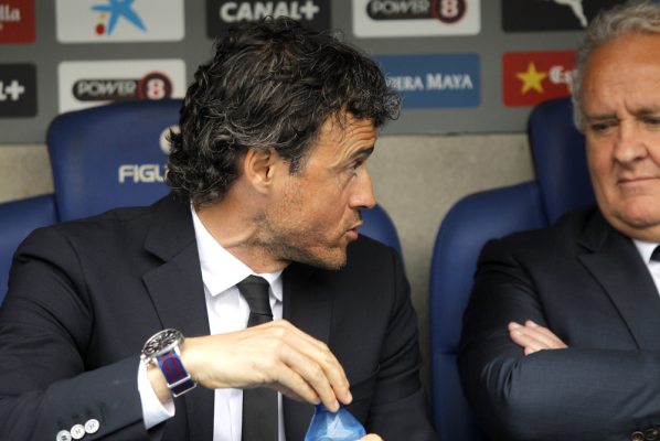 Luis Enrique zadowolony z gry Barcelony