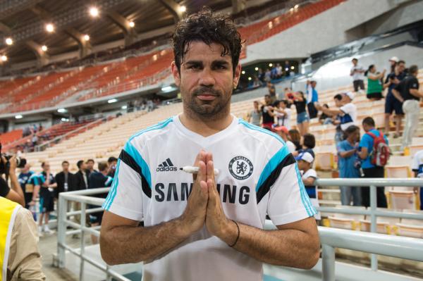 Diego Costa ukarany!