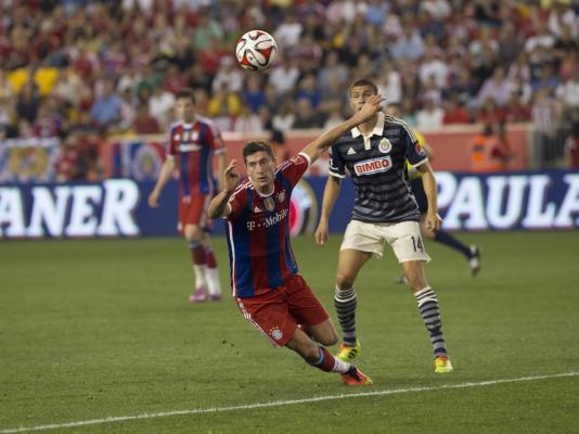 Lewandowski jak Ronaldo i Messi