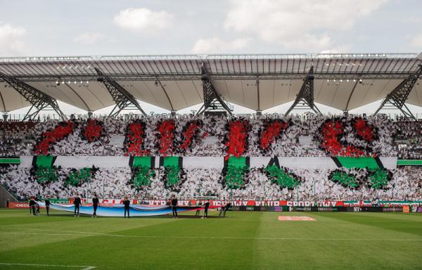 Legia najchętniej oglądana w Ekstraklasie