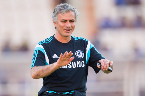 Mourinho najlepszym trenerem