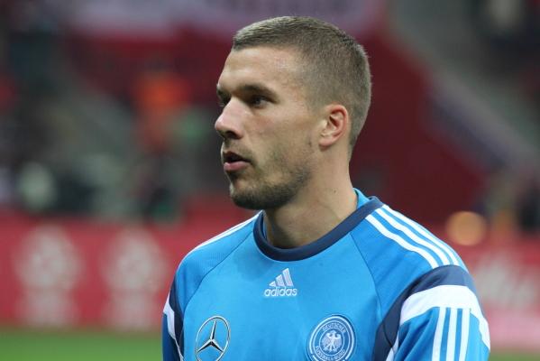 Kontuzja kostki eliminuje Podolskiego z meczów kadry