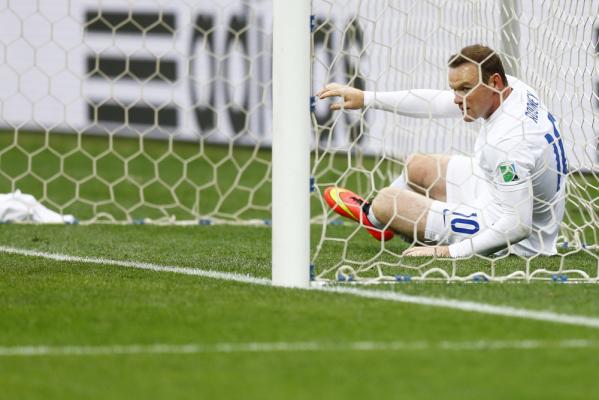 Anglia bez Rooneya w meczu eliminacyjnym?