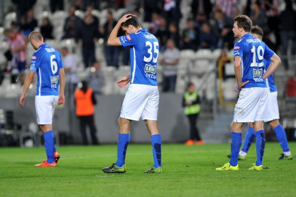 Piłkarze Lecha ostro trenują mimo przerwy