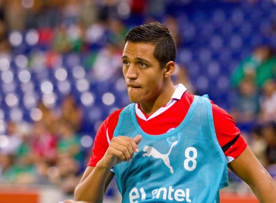 Sanchez prawie jak Lewy - 9 bramek w 5 meczach